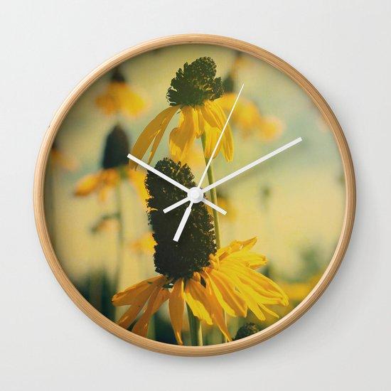 Summer Sunshine Wall Clock