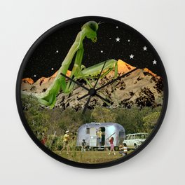 Good Old Fashioned Family Time Wall Clock