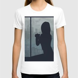 Watching The Storm T-shirt