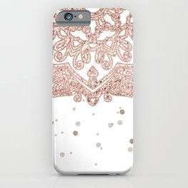 Peaceful showers iPhone Case