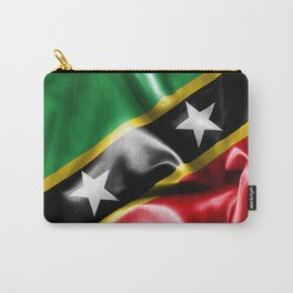 Saint Kitts and Nevis Flag Carry-All Pouch