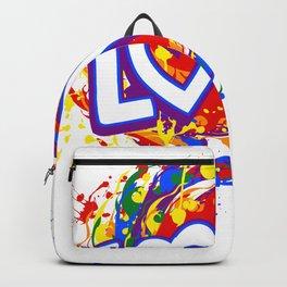 Rainbow Pride Love LGBT Backpack