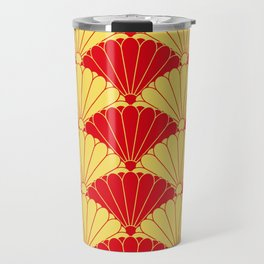 Fan texture Travel Mug