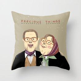 Precious Things Throw Pillow