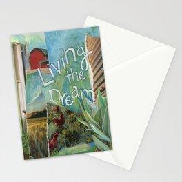 Dream  ( Living The Dream) Stationery Cards