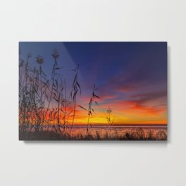 End of Day Colors Metal Print