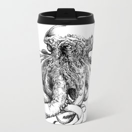 Octopus III Metal Travel Mug