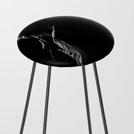 Soulful Silhouette Counter Stool