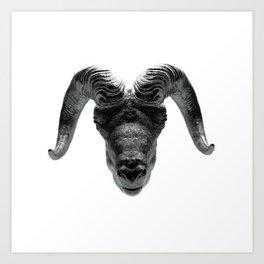 Big Horn Art Print