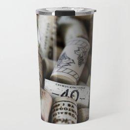 Wine Cork No. 4 Travel Mug