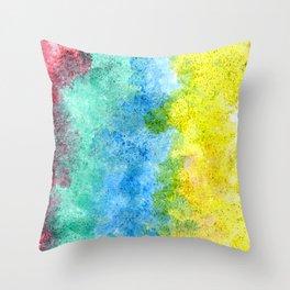 Smoky colors Throw Pillow
