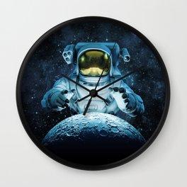 Reach for the Moon Wall Clock