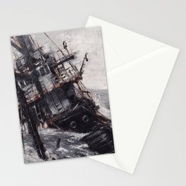 All Hands On Deck Stationery Cards