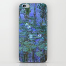 "Claude Monet ""Water Lilies"" (7) iPhone Skin"