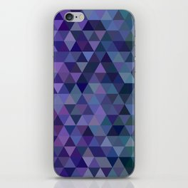 Triangle tiles iPhone Skin