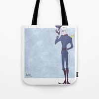 hetalia Tote Bags featuring APH: Guten tag by Jackce