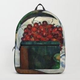 """Paul Cezanne """"Still Life with Cherries and Peaches"""" Backpack"""