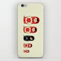 sheep iPhone & iPod Skins featuring The Black Sheep by Fabian Gonzalez