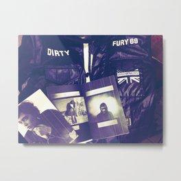 Dirty Fury 69 mixtape Metal Print