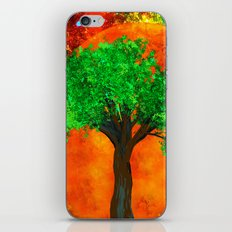 THE FOREVER TREE iPhone & iPod Skin