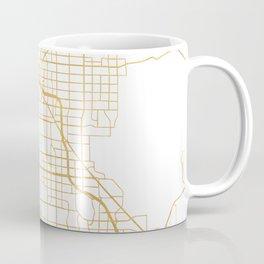 LAS VEGAS NEVADA CITY STREET MAP ART Coffee Mug