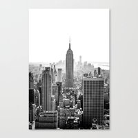 city Canvas Prints featuring New York City by Studio Laura Campanella