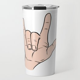 LOVE You Sign Travel Mug