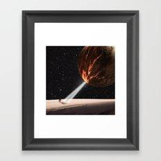 Go into Light Framed Art Print