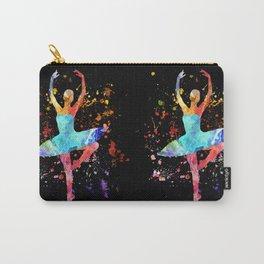 Ballerina Blacky Black Carry-All Pouch