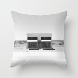 Desert Materialism Throw Pillow