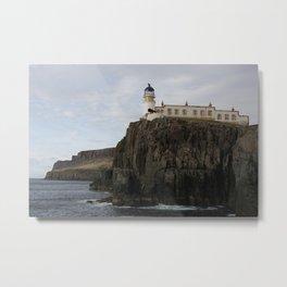 Neist Point Lighthouse Metal Print