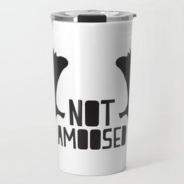 Not Amoosed Travel Mug
