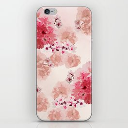 Floral Rage iPhone Skin