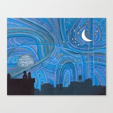 Brooklyn Sky Canvas Print
