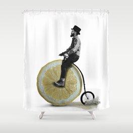 Lemmy Farthing Shower Curtain