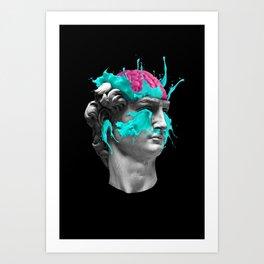 Dave Brain Art Print