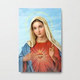 Virgin Mary Vintage Metal Print