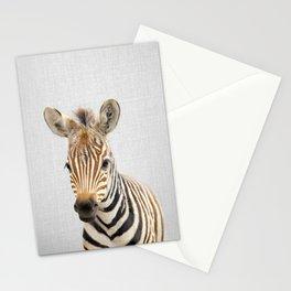 Baby Zebra - Colorful Stationery Cards