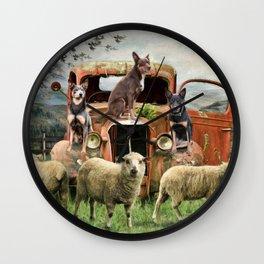 Kelpie Life Wall Clock