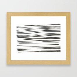 chinese ink Framed Art Print