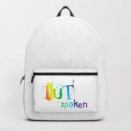 Outspoken LGBT Backpack