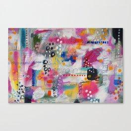 Trickle Down Canvas Print