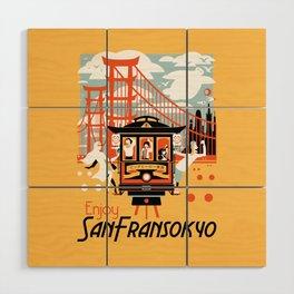 Enjoy San Fransokyo Wood Wall Art