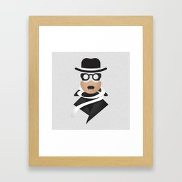 Invisible Man / Hannibal Lecter Framed Art Print