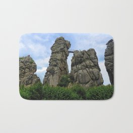 The Externsteine, Teutoburg Forest Bath Mat