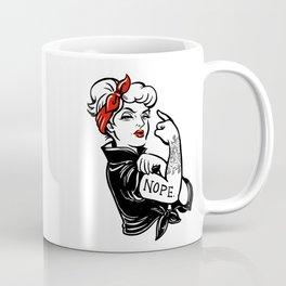 NOPE2 Coffee Mug