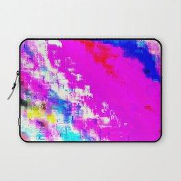 Glitchy Pinkness Laptop Sleeve