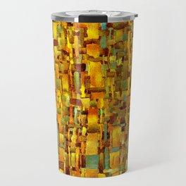 Gold and bronze Travel Mug