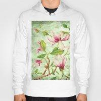 magnolia Hoodies featuring Magnolia by CatDesignz