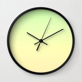 EARTHBOUND - Minimal Plain Soft Mood Color Blend Prints Wall Clock
